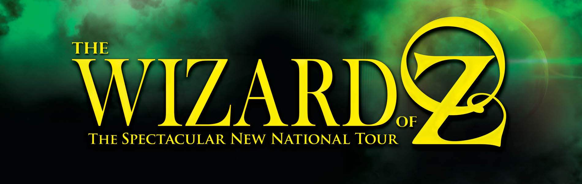 Wizard of Oz Event Banner